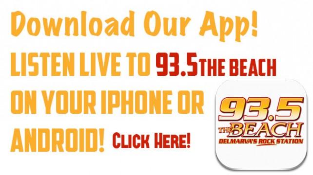 93.5 The Beach Mobile App