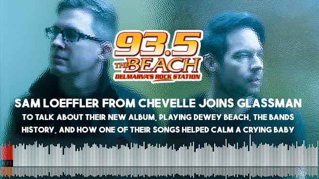 Sam Loeffler from Chevelle joins Glassman Interview